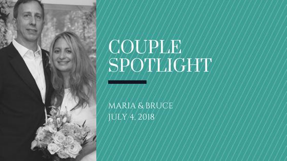 Couple spotlight - Bruce and Maria